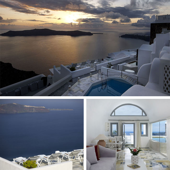 Iliovasilema Suites - Santorini Hotels, Travelive