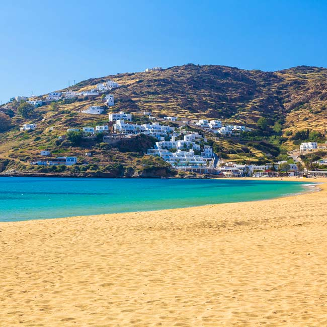 Ios island – beautiful beaches, Greece holiday destinations, relax with Travelive
