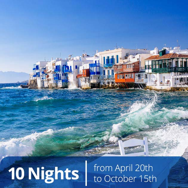 Little Venice – Mykonos, Luxury Vacation Bundles Brought to You by Travelive