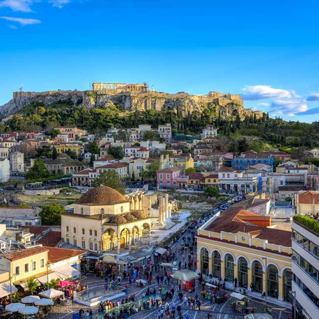 Monastiraki – Athens, Greece holiday destinations, luxury packages by Travelive