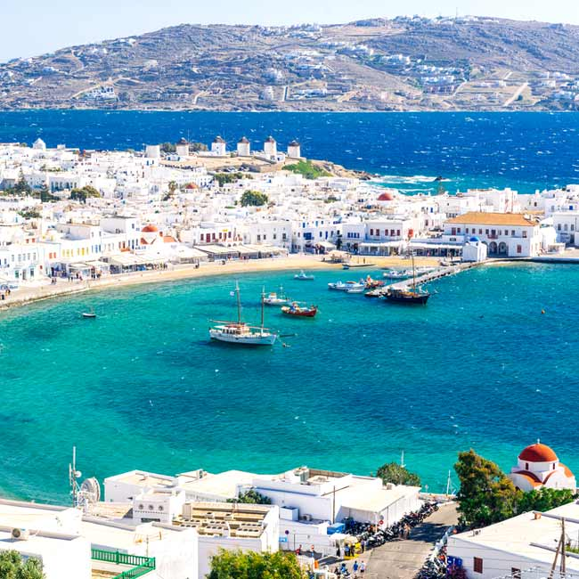 Mykonos Overview – Top destinations in Greece, luxury travel packages created by Travelive