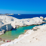 Sarakiniko Beach - Cycladic Treasures, Best Luxury Travel Greece Packages