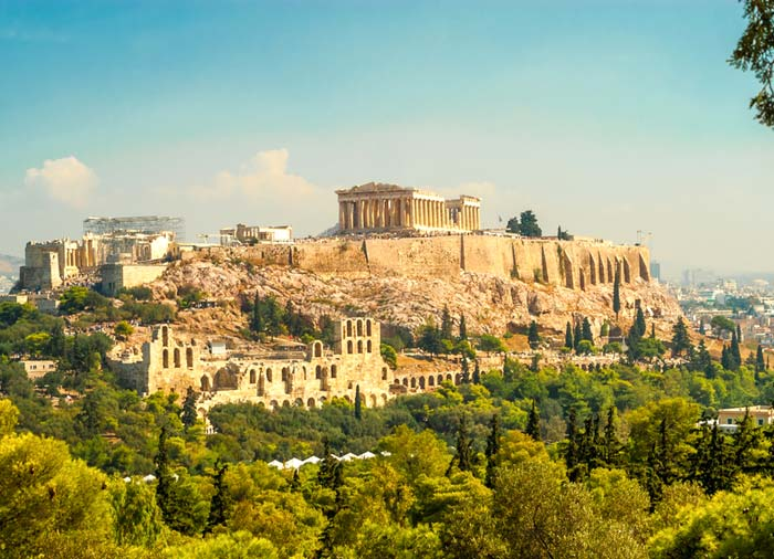 Athens – Acropolis, Athens honeymoon tour with Travelive, luxury travel agency