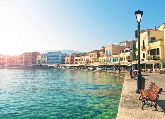 Chania – Crete Island, Crete honeymoon package with Travelive, luxury travel agency