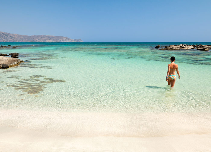 Elafonisi Beach – Crete honeymoon package created by Travelive, luxury travel agency