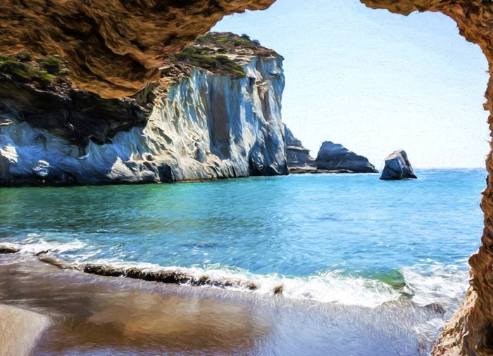 Beach in Milos - Milos vacation packages, Cycladic treasures by Travelive