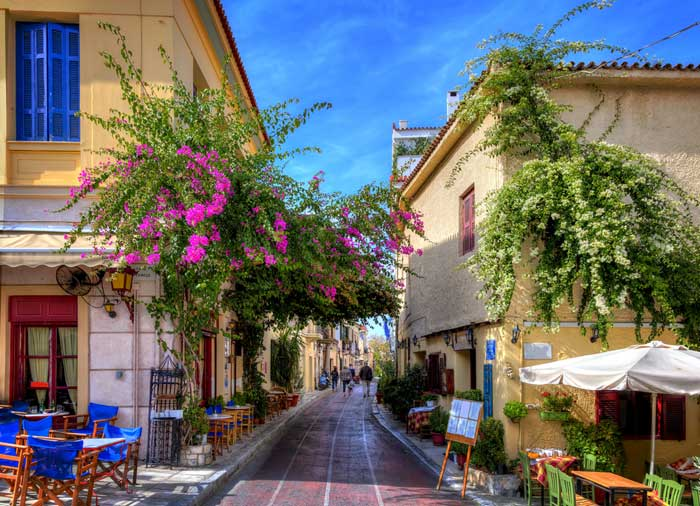 Plaka – travel in Athens, Cycladic tour, Cycladic Treasures by Travelive