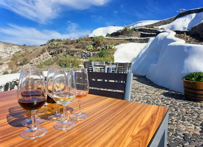 Wine taste tour – Cyclades tour, Cycladic Treasures packages in Santorini with Travelive
