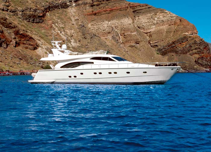 Private yacht – Santorini Yacht Charter Greek islands, Travelive