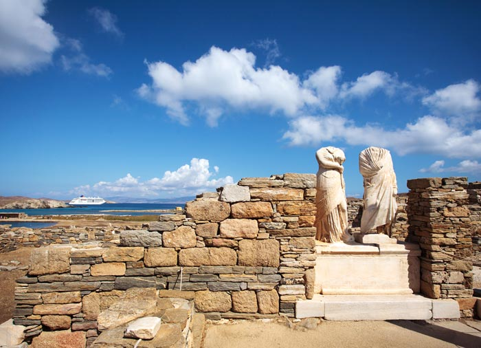 Cleopatra – Delos Island, Greek Island tours with Travelive