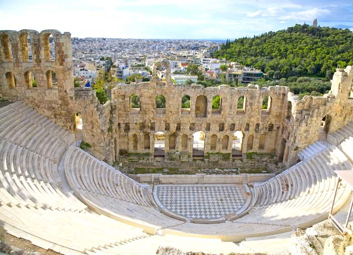 Herodes Atticus - Athens, Santorini, Mykonos tour with Travelive, luxury travel agency