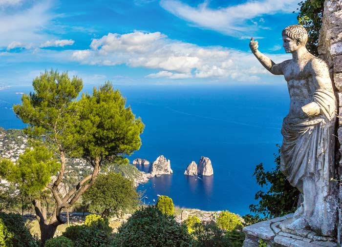 Capri Island – Italy, Capri honeymoon packages with Travelive, Romantic luxury travel agency