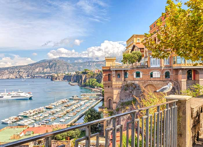 Coast of Sorrento – Sorrento honeymoon packages with Travelive, luxury travel agency