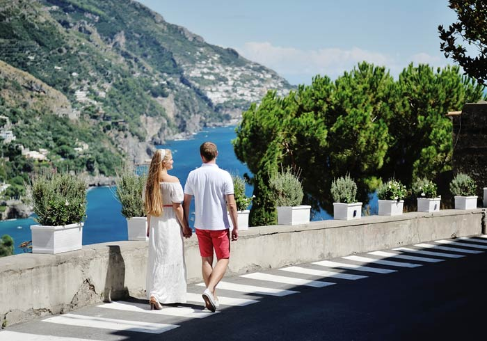 Couple – Amalfi Coast Italy Honeymoon with Travelive, Romantic Explorer Package