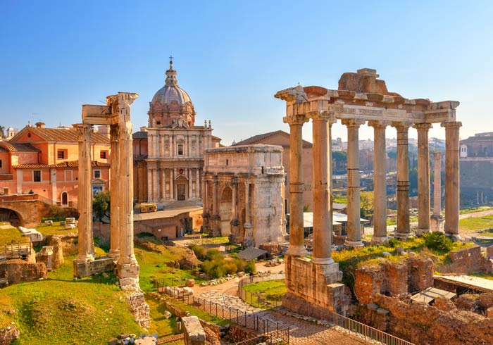 Roman Forum – Rome honeymoon tours with Travelive, Romantic Tuscany luxury packages
