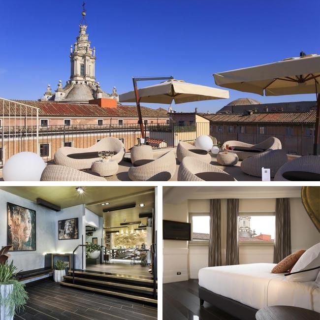 Palazzo Navona Hotel - Rome Hotels, Travelive