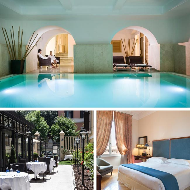 Rose Garden Palace Hotel - Luxury Hotels Rome, Travelive