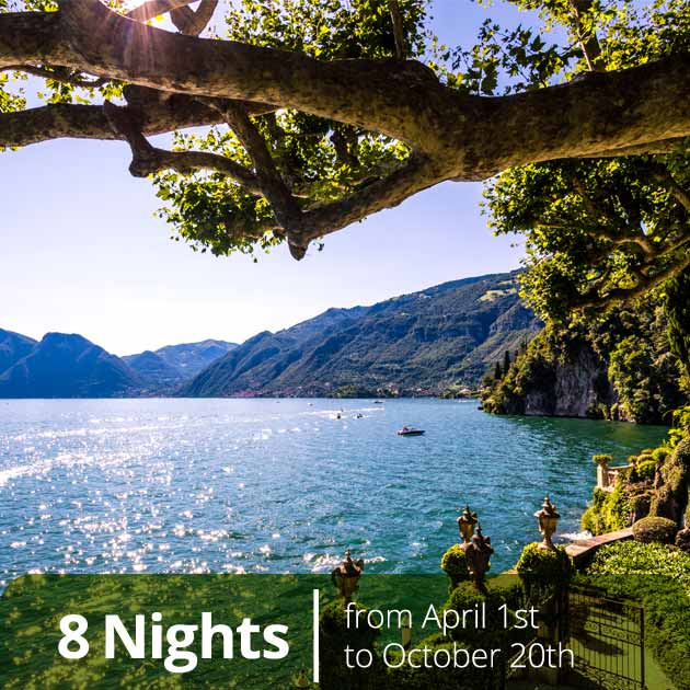 Lake Como – Luxury Vacation Packages, Vacation Specials by Travelive