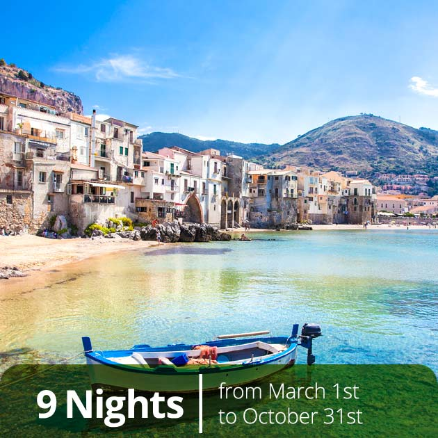 Cefalu Sicily – Old Harbor, Sicily Experience Travel Vacation Packages with Travelive, Luxury tours