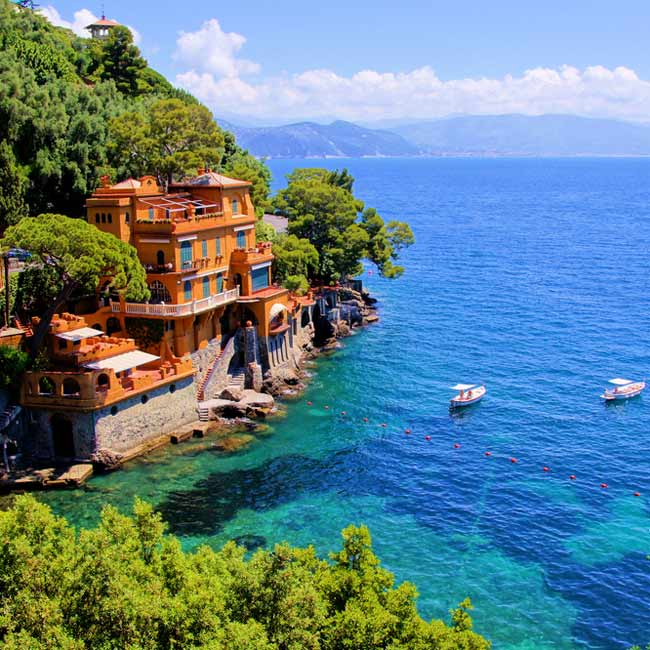 Italian Riviera – Portofino luxury seaside town, Italy holiday destinations by Travelive