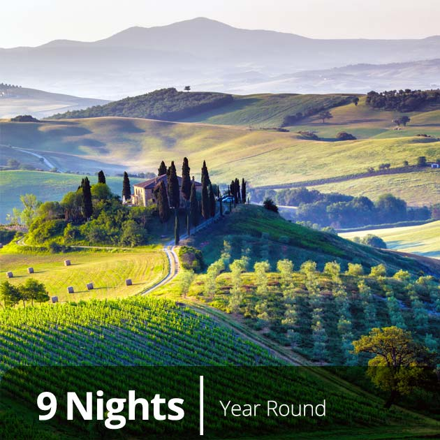 Tuscany – Italy, Travel Vacation Packages with Travelive
