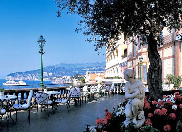 Grand Hotel Excelsior – Vittoria, Sorrento Tours with Travelive, luxury travel agency