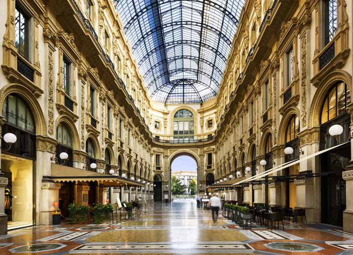 Galleria Vittorio Emanuele – Milan honeymoon tours with Travelive, luxury travel agency