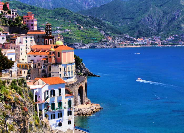 Atrani – Amalfi Coastline, Rome to Amalfi Coast tour with Travelive