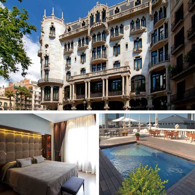 Hotel Casa Fuster - Barcelona Hotels, Travelive