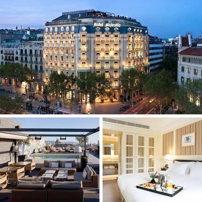 Majestic Hotel & Spa Barcelona - Luxury Hotels Barcelona, Travelive
