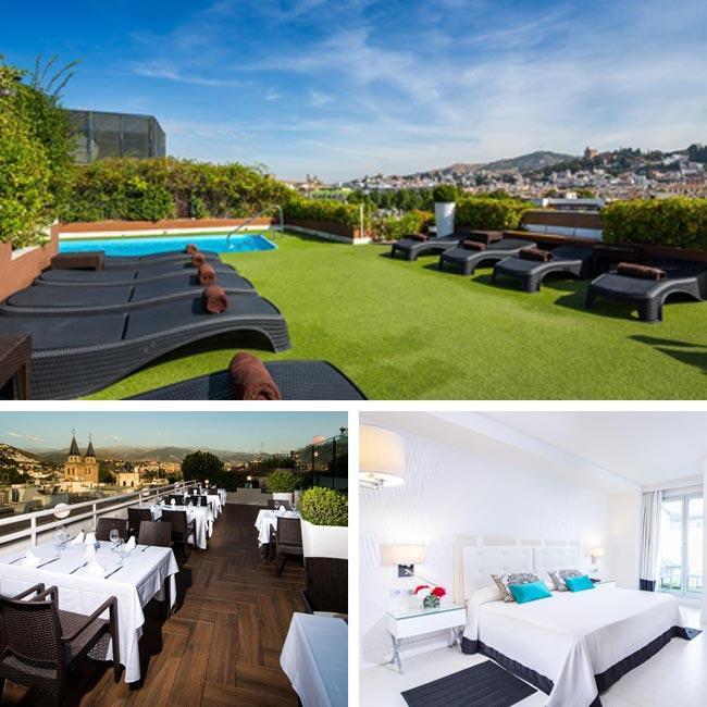 Carmen Hotel - Granada Hotels, Travelive
