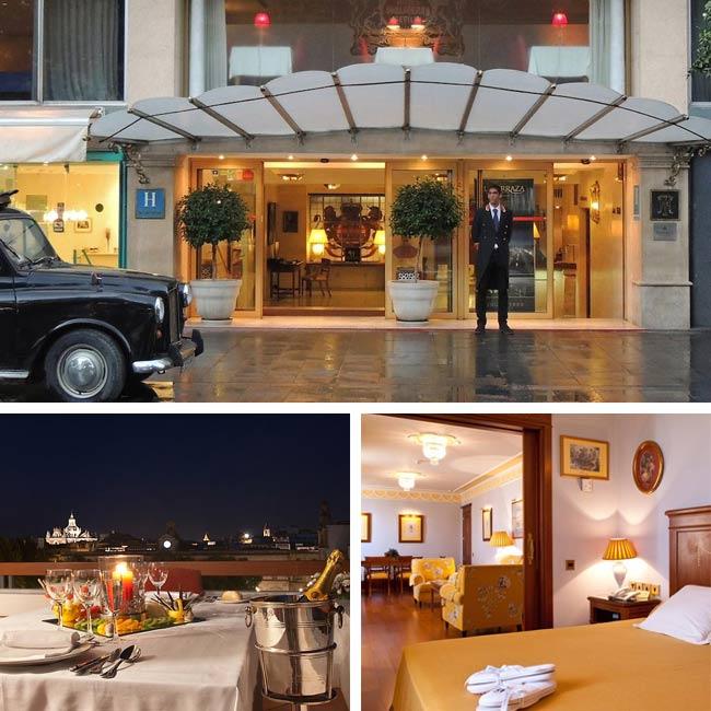 Hotel Inglaterra - Seville Hotels, Travelive