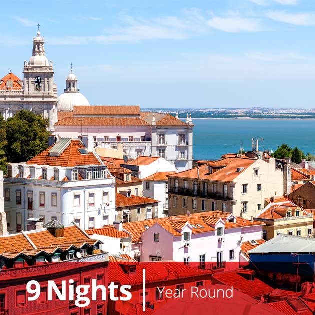 Alfama District in Lisbon - One of Portugal's Best Honeymoon Destinations