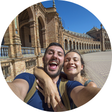 Couple in Seville – Luxury Travel Spain, Honeymoon packages