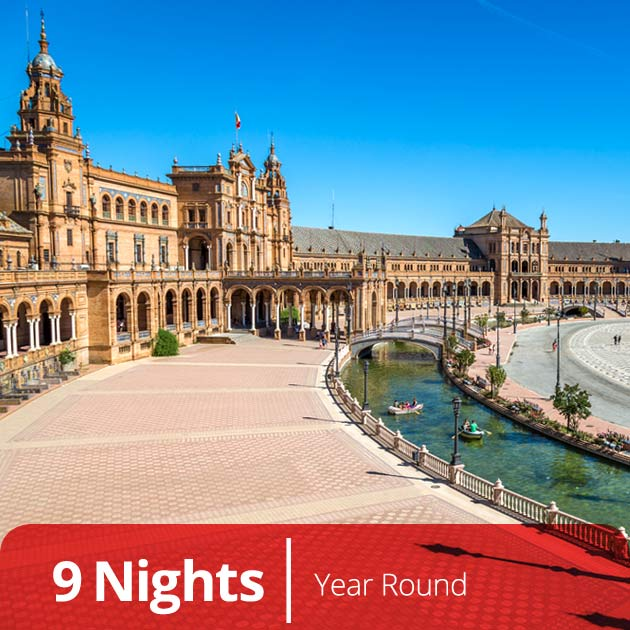Plaza de Espana – Seville, Spain Vacation Packages with Travelive