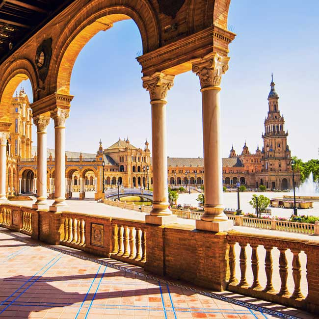 Plaza de Espana – Seville, Spain holiday destinations by Travelive