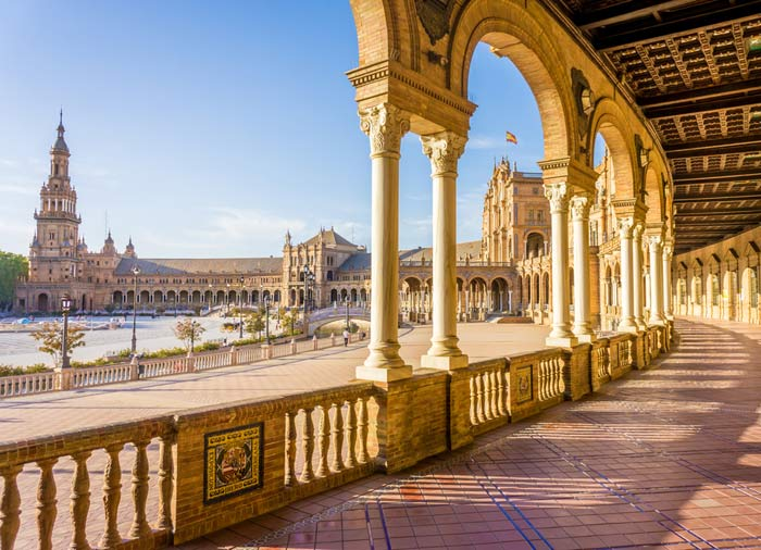 Plaza de Espana – Seville Honeymoon tours with Travelive, luxury travel agency