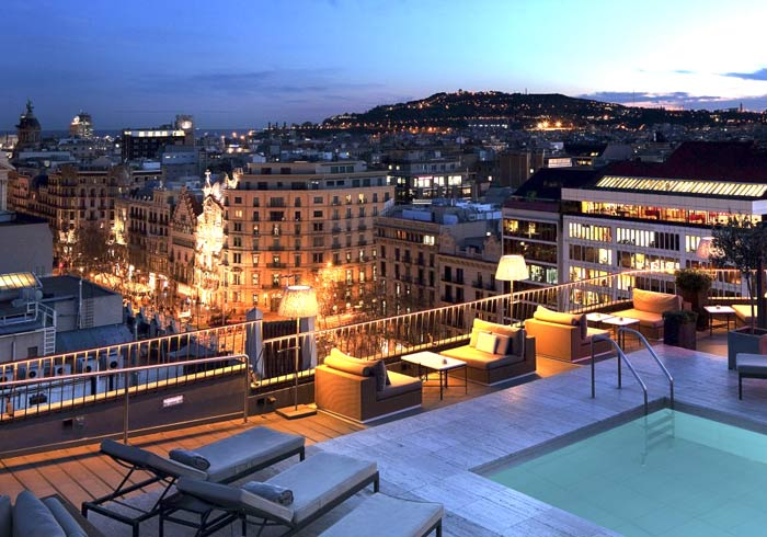 Majestic Rooftop Hotel – Barcelona Honeymoon packages with Travelive, luxury travel agency
