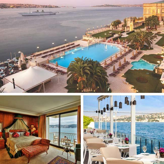 Ciragan Palace Kempinksi - Istanbul Hotels, Travelive