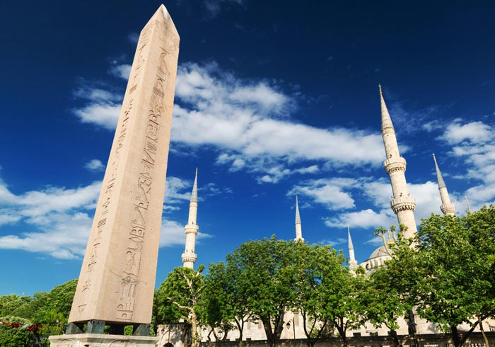Obelisk of Theodosius – Istanbul, Greece Turkey honeymoon tours with Travelive