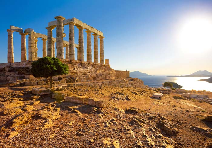 Poseidon Temple – Cape Sounion, Athens, Greece Turkey honeymoon tours with Travelive