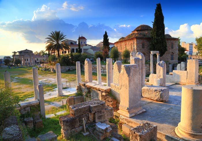 Roman Agora – tour of Athens with Travelive' s Greece and Turkey honeymoon packages