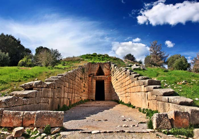 Tholos Tomb of Atreus – Mycenae, Greece Turkey honeymoon tours with Travelive