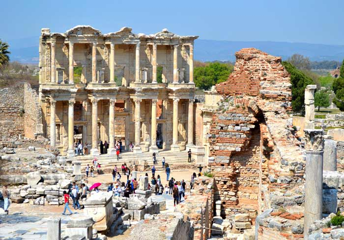 Ephesus Library Turkey – Greece Turkey Honeymoon tours with Travelive, luxury travel agency