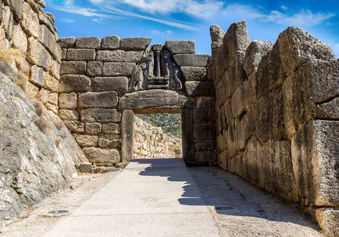 Lion Gate – Mycenae, Greece and Turkey Honeymoon tours with Travelive, luxury travel agency