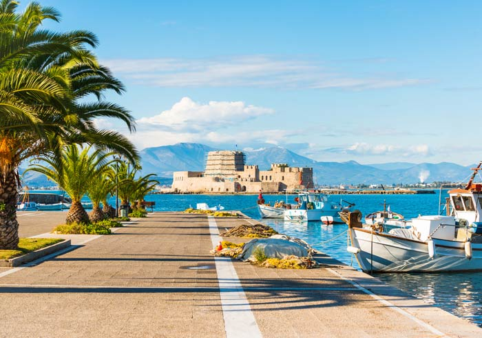 Nafplion – Greece and Turkey Honeymoon tours with Travelive, luxury travel agency