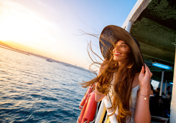 Bosphorus Cruise -  Greece and Turkey honeymoon tours with Travelive, luxury travel agency
