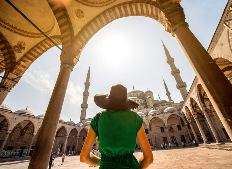 Istanbul Blue Mosque - Luxury Travel to Turkey by Travelive